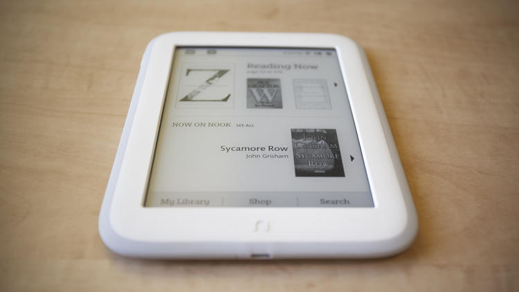 <p>Released Wednesday, the new Nook Simple Touch GlowLight features a brighter, sharper display; lighter body; and an improved recommendations system.</p>