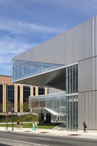<p>When architects Weiss/Manfredi were tasked with building a new center for UPenn's nanotechnology research hub, they interviewed the scientists who would be working there.</p>
