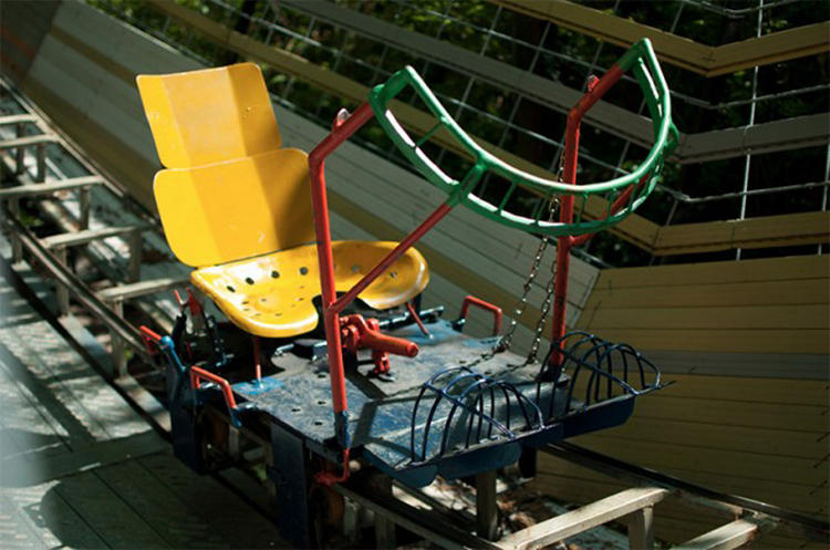<p>After picking up metalworking, Bruno tried his hand at several smaller rides before his ambitions got the best of him.</p>