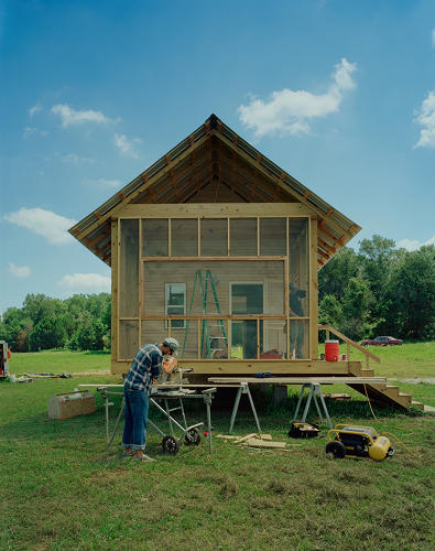 <p>Rural Studio started making the 20K house in 2005, keeping in mind the assumption that $20,000 was the total cost of housing someone living on Social Security could afford to pay in monthly mortgage installments.</p>