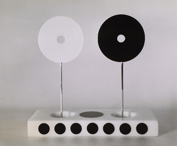 "<p>Of his series of circle sculptures and paintings, completed mainly in the 1950s, Liberman said, ""I thought that basically, the circle had been overlooked by Western Civilization.&quot;</p>"
