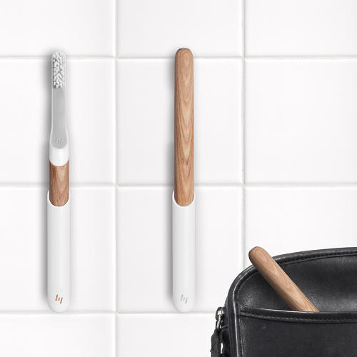 <p>The toothbrushes start at $19, and come with an optional subscription service for bristles. Build your own brush, <a href=&quot;http://www.indiegogo.com/projects/550531/&quot; target=&quot;_blank&quot;>here</a>.</p>