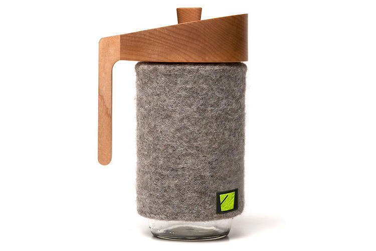 <p>The <a href=&quot;http://www.fastcodesign.com/1672626/a-beautiful-unbreakable-french-press-made-from-a-mason-jar&quot; target=&quot;_self&quot;>Portland Press French press</a> comes with a lifetime guarantee, thanks to its wool sleeve. <a href=&quot;http://www.crowdsupply.com/bucket/the-portland-press&quot; target=&quot;_blank&quot;>Get one</a> for $50.</p>