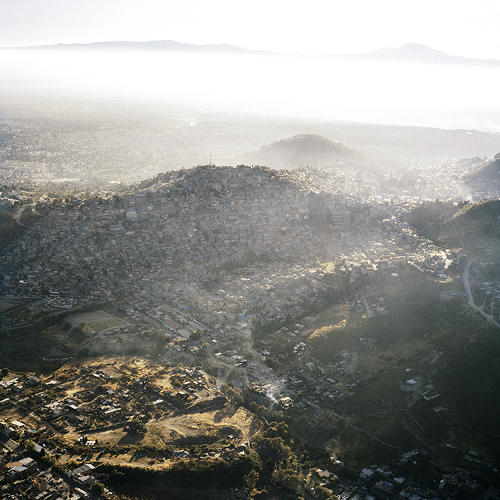"<p>""From the ground it seems like there is no end to the vast city, especially on a busy day. However, it's only from the sky that you actually get to see what the busyness and overgrowth of Mexico City actually looks like.&quot;</p>"
