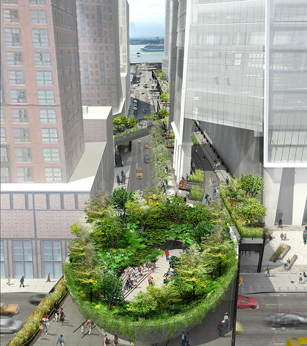 <p>The High Line design team released new images of plans for the third and final phase of New York's elevated pedestrian park.</p>