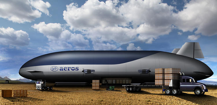 <p>The helium-powered Pelican <a href=&quot;http://www.fastcoexist.com/1681292/this-giant-floating-airship-from-nasa-and-the-military-gets-closer-to-flight&quot; target=&quot;_self&quot;>doesn't need a runway to land.</a></p>