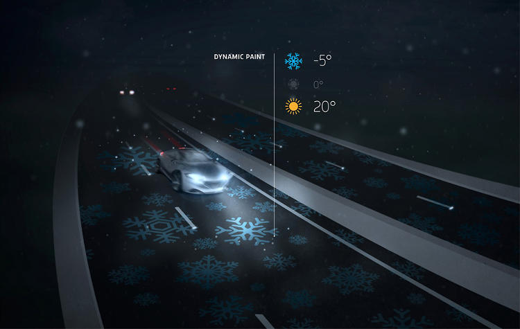 <p>A new &quot;smart highway&quot; [ur;=http://www.fastcoexist.com/1681234/take-a-trip-down-the-glowing-electric-car-charging-highway-of-the-future]being developed in the Netherlands[/url] has lane lines made by lights that can be altered and even lights up a warning when it gets icy.</p>