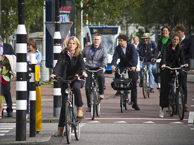 <p>Where can you find <a href=&quot;http://www.fastcoexist.com/1681955/the-20-best-biking-cities-in-the-world&quot; target=&quot;_self&quot;>the world's best biking cities</a>? Here's a hint: Don't look in the U.S.</p>