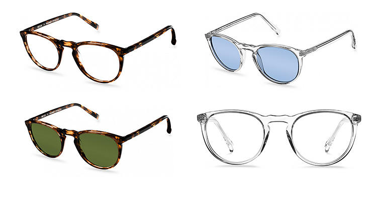 <p>Sure, everyone wears Warby Parker frames. But instead of the Percy or the Edgeworth, shop the Carmicheal collection, designed in collaboration with Beck. $95--as always--each, <a href=&quot;http://www.warbyparker.com/eyeglasses/men/carmichael#root-beer&quot; target=&quot;_blank&quot;>here</a>.</p>