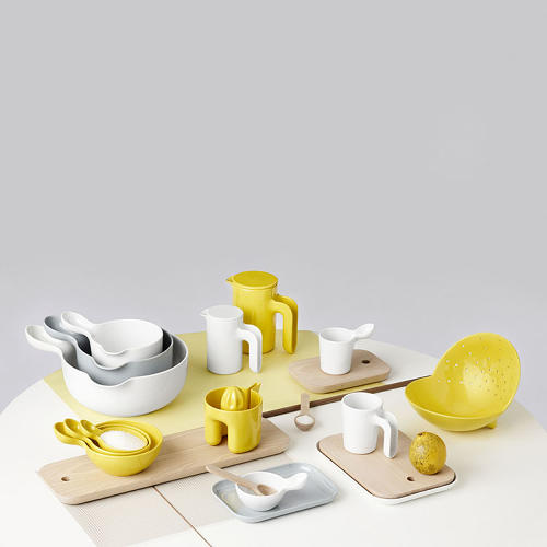 <p>Available in both the U.S. and Europe, the Ole Jensen Collection for Danish design label Room Copenhagen includes storage, cooking and serving products: containers, bowls, cups, jugs, plates and kitchen utensils.</p>