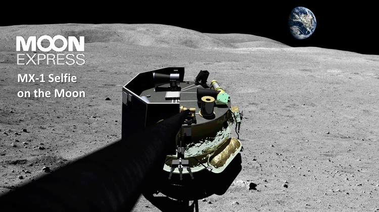 <p>The privately held company is competing for Google's Lunar X Prize, which is offering money to the first craft that can get to the moon, move 500 meters, and then send back two broadcasts.</p>