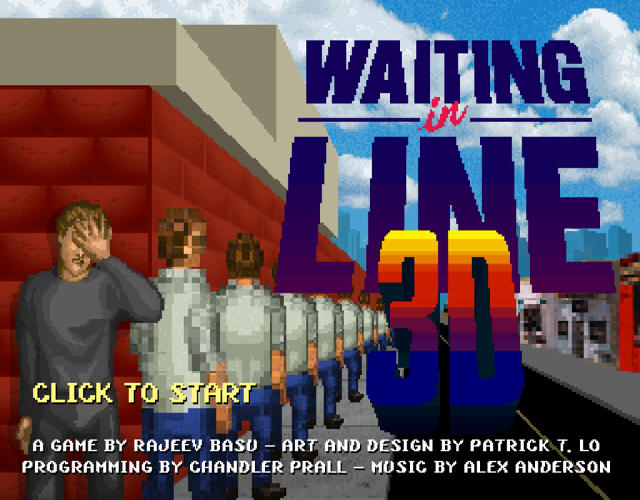 <p>The splash screen of the world's most boring promotional video game.</p>