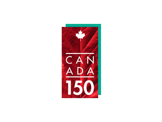 <p>Jason Fung<br /> Graphic Designer<br /> Fngcreative.com</p>  <p>Canada's 150th celebration mark represents a pillar that was used in the original logo to symbolize pride and strength. The back pillar can be changed to various colours to communicate multiculturalism. The two pillars are married together to communicate unity.</p>