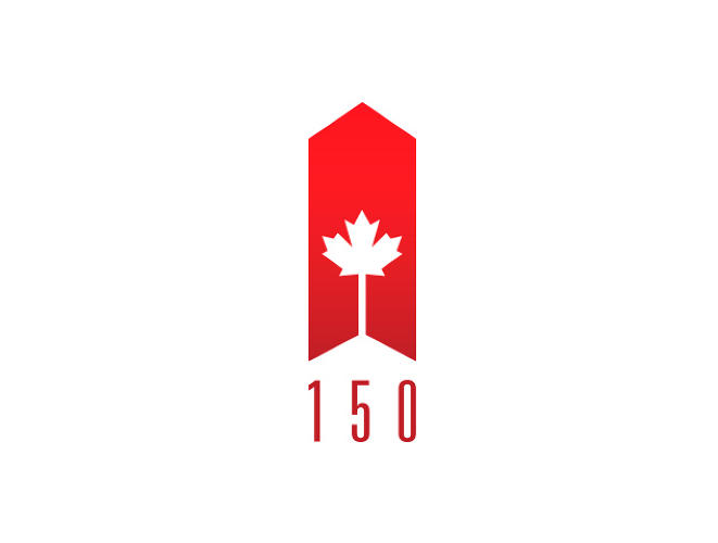 <p>Ibraheem Youssef<br /> Graphic Designer / Associate Creative Director<br /> Iyoussef.com</p>  <p>I wanted to create a logo for Canada's Sequicentinnial that signified growth.</p>  <p>The Growth that Canada has gone through in the past 150 years, has been in many areas, culturally, demographically, ethnically, population wise, and growth in the way the nation as a collective thinks, and operates interally, as a Country and externally as a part of the global community. This elongated graphic represents all that, while alluding to further continued growth.</p>