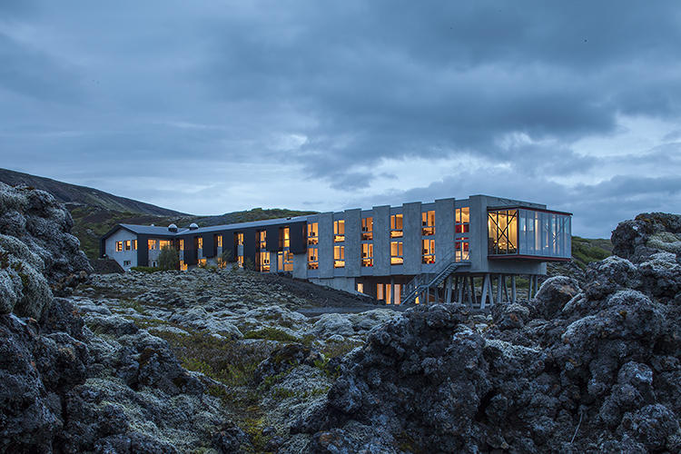<p>The ION Luxury Adventure Hotel, designed by Santa Monica-based studio <a href=&quot;http://www.minarc.com/&quot; target=&quot;_blank&quot;>Minarc</a>, is set into the hillside just outside Reykjavík near Iceland's Thingvellir National Park.</p>