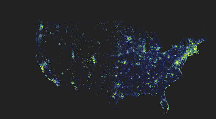<p>This interactive graphic, which <a href=&quot;http://www.fastcoexist.com/3022486/visualized/mapping-the-wealth-of-us-zipcodes-shows-the-haves-hiding-from-the-have-nots&quot; target=&quot;_self&quot;>lets you see the economic stats for every ZIP code in the country, shows the emergence of &quot;Super ZIPs&quot;--communities where nearly everyone is wealthy.</a></p>