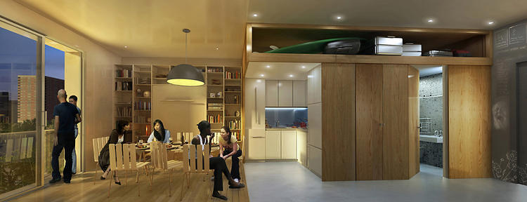 <p>Take a look at New York's new smallest apartment, <a href=&quot;http://www.fastcoexist.com/1681250/take-a-look-at-new-yorks-new-smallest-apartment&quot; target=&quot;_self&quot;>the winner of a contest to design livable tiny apartments to expand studio-scale housing in the Big Apple.<br /> </a></p>
