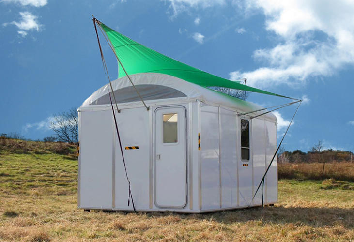 <p>If your house is destroyed in a disaster, you don't want to live in a tent. <a href=&quot;http://www.fastcoexist.com/1681527/the-disaster-shelter-you-want-to-live-in-way-more-than-a-fema-trailer&quot; target=&quot;_self&quot;>The Rapid Deployment Module can be assembled in 20 minutes with no tools and will last at least 10 years.</a></p>