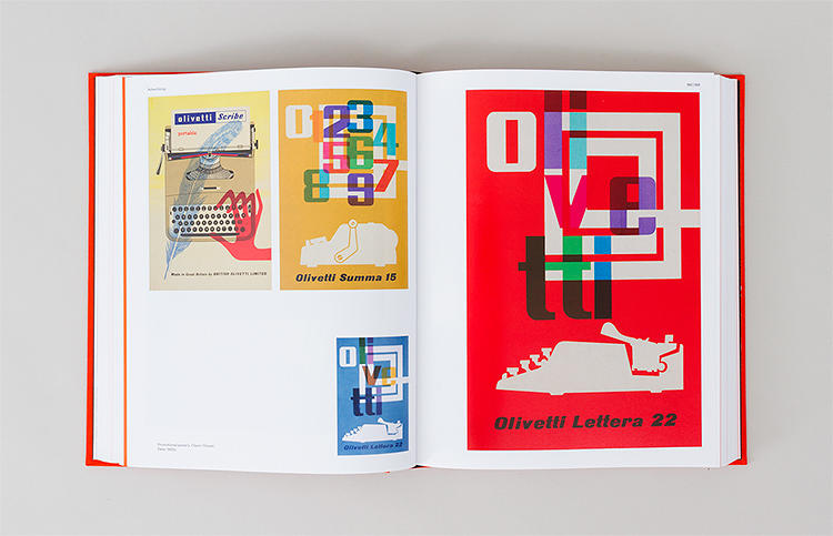 <p>Promotional posters for Olivetti, 1960s.</p>