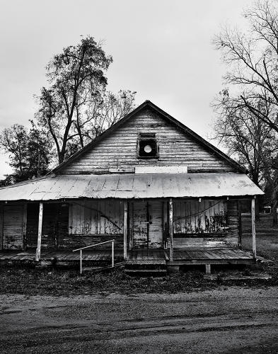 <p>This former gas station was built about half a century before design students descended on Hale County.</p>