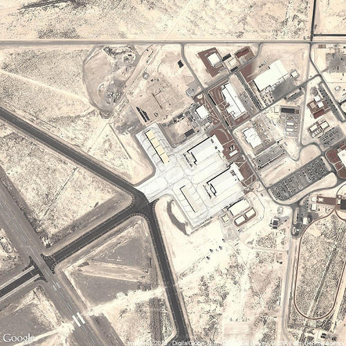 <p>Creech Air Force Base</p>