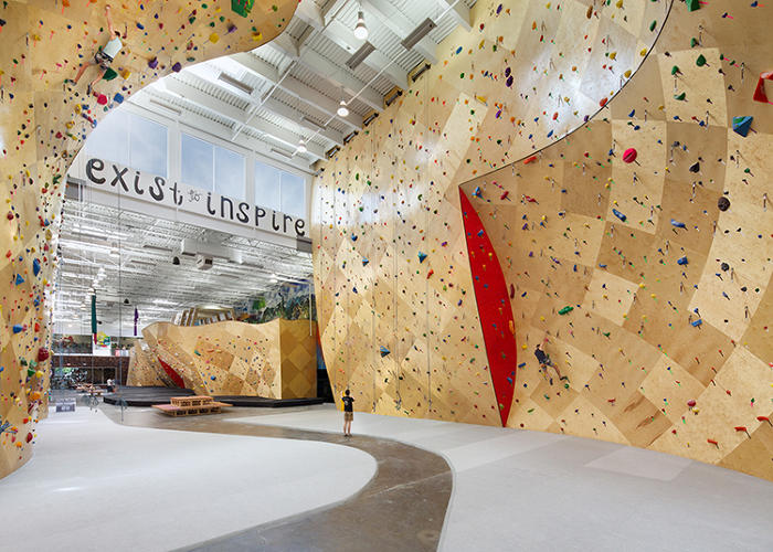 <p>Brooklyn Boulders Somerville gives us a whole new definition of open offices.</p>