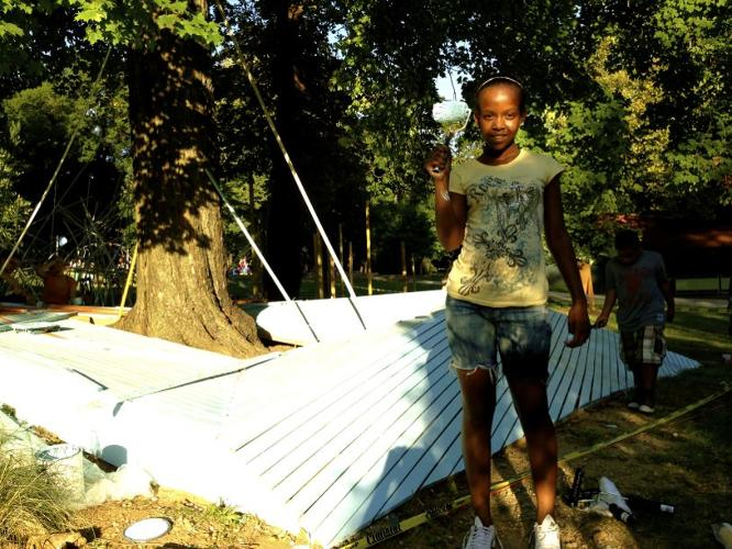 <p>From the organization Public Workshop, the program allows teenagers to do something meaningful for their neighborhoods that adults might not necessarily be able to.</p>