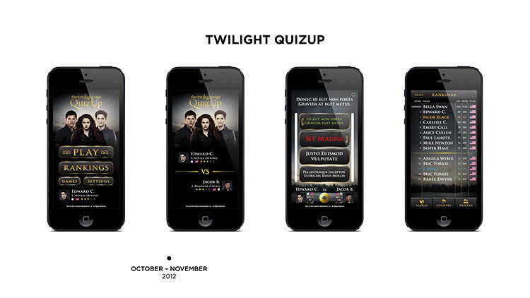 <p>The <em>Twilight</em> version of QuizUp was a massive hit. &quot;We realized then that people can get very crazy about trivia--and it actually guaranteed us most of our funding,&quot; Davidsson says.</p>
