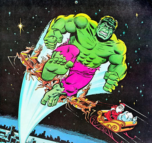 <p>December Is A Green-Skinned Gent Called The Hulk</p>