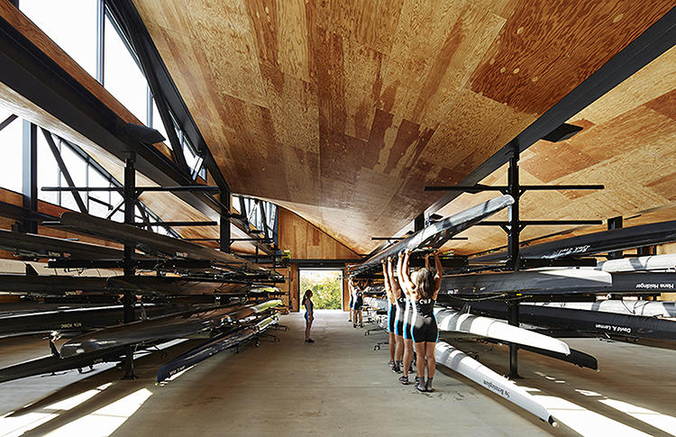 <p>Studio Gang has also been commissioned to create a second boathouse on the southern branch of the river, due to be completed in 2015.</p>