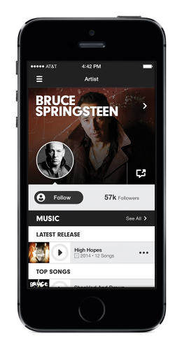 <p>The company admits it's lacking on its social features, and what exists on the app largely centers around notifications and following users, artists, and playlists.</p>