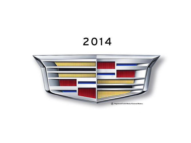 <p>Cadillac's new crest, revealed this week at the Detroit Auto Show, is lower and more streamlined to reflect design changes the 111-year-old brand is making on its vehicles.</p>