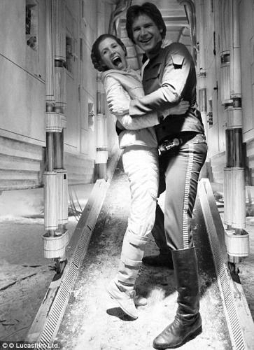 <p>Dancing on Hoth with Carrie Fisher.</p>