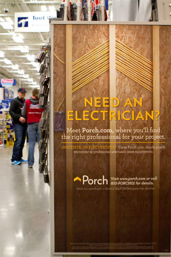 <p>For the less do-it-yourself inclined Lowe's shopper, the home improvement store has just added a very valuable resource to select retailers: In-store access to <a href=&quot;http://porch.com/&quot; target=&quot;_blank&quot;>Porch.com</a>.</p>
