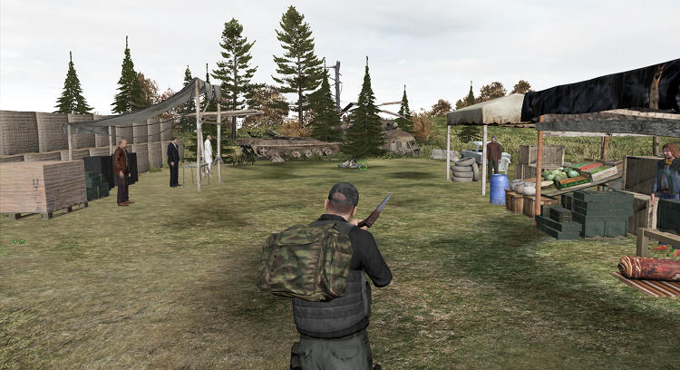 <p>This comes largely from <em>DayZ</em>'s use of permadeath--meaning that players have only one life in the game and lose everything if they are killed--as well as a scarcity of survival resources, and a kill-or-be-killed relationship with other players, who often need your supplies to stay alive themselves. There are also zombies.</p>