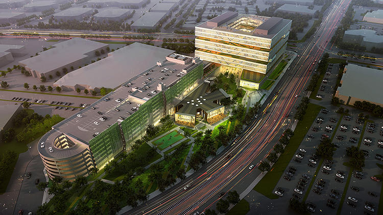 <p>To successfully accomplish a suburban retrofit, private companies will have to come into play, too. Samsung's new San Jose headquarters will be built on a more urban model.</p>