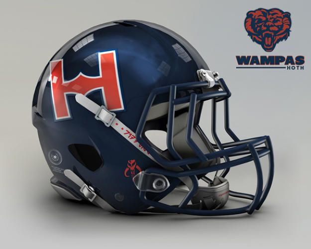 <p>Chicago Bears. Hoth, The Wampas.</p>