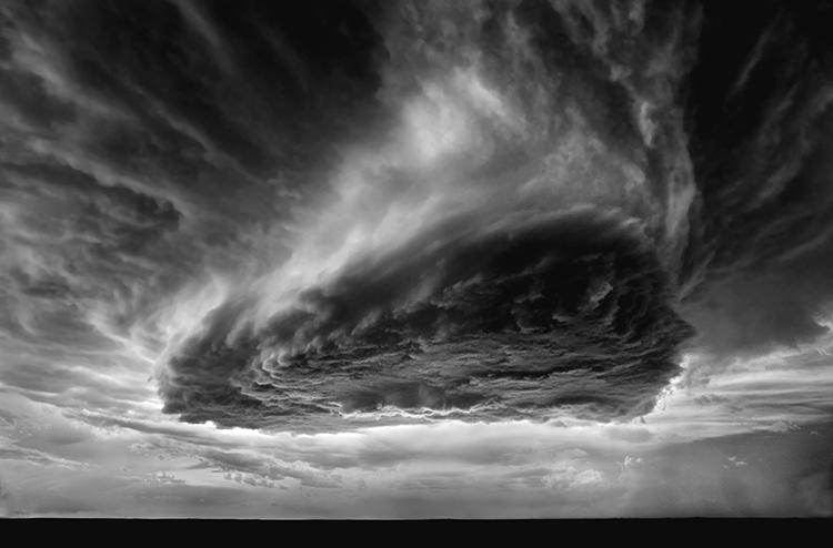 <p>Vapor Cloud, near Clayton, New Mexico, 2009</p>