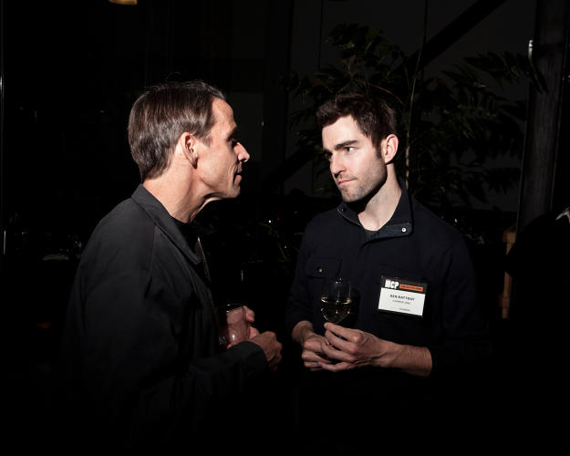 <p>Change.org founder <a href=&quot;http://www.fastcompany.com/person/ben-rattray&quot; target=&quot;_self&quot;>Ben Rattray</a>, right.</p>