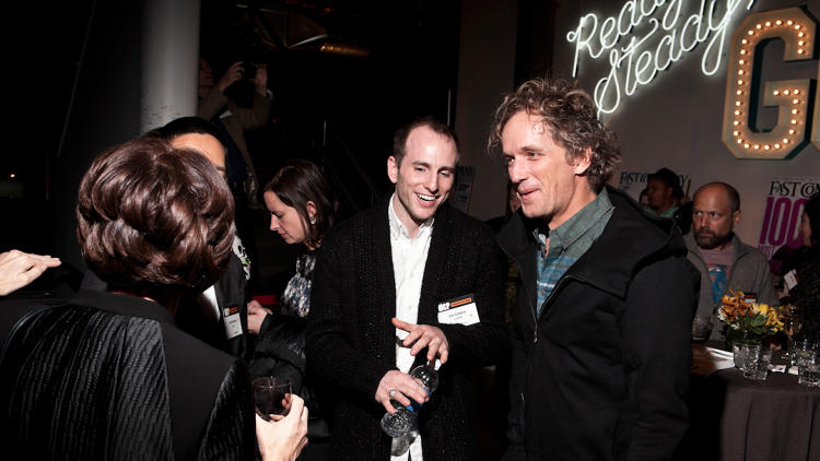 <p>Airbnb cofounder<a href=&quot;http://www.fastcompany.com/person/joe-gebbia&quot; target=&quot;_self&quot;> Joe Gebbia</a> with Fuseproject CEO <a href=&quot;http://www.fastcompany.com/person/yves-behar&quot; target=&quot;_self&quot;>Yves Behar</a>.</p>