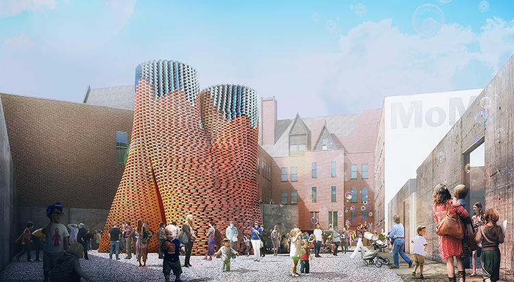 <p>A new kind of building is set to sprout amid New York City's garden of glass and steel.</p>