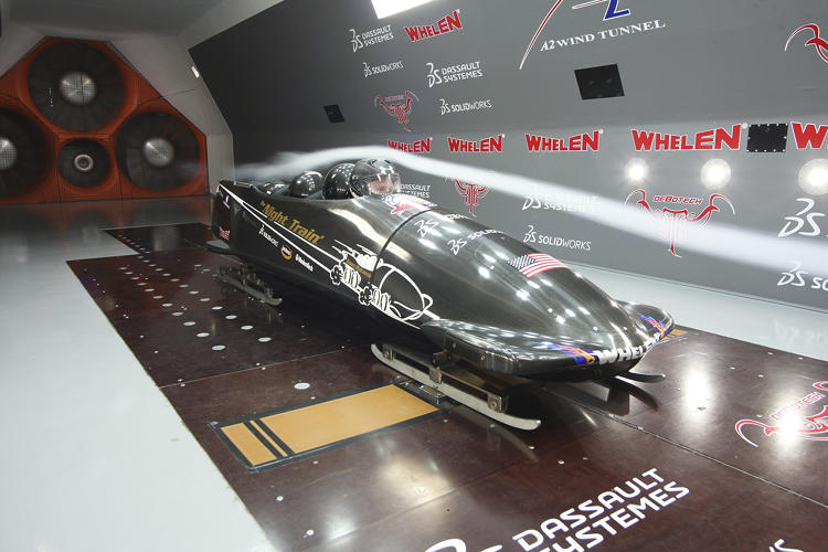 <p>The Bo-Dyn Night Train 2 will be the last of the American bobsleds to race at Sochi in late February.</p>