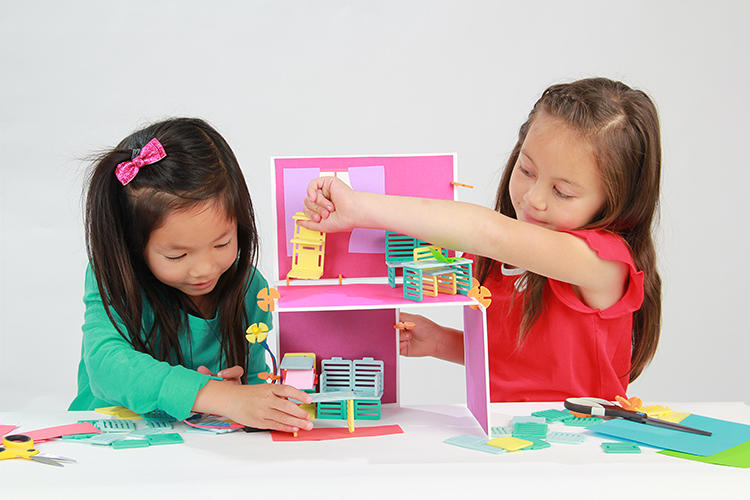 <p>Designed by two Stanford engineers, Roominate is a toy that won't limit girls' imaginations.</p>