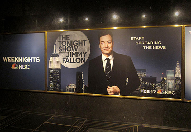 <p>It needed to be bold and fresh, yet still  evoke <em>The Tonight Show's</em> 60-year heritage.</p>