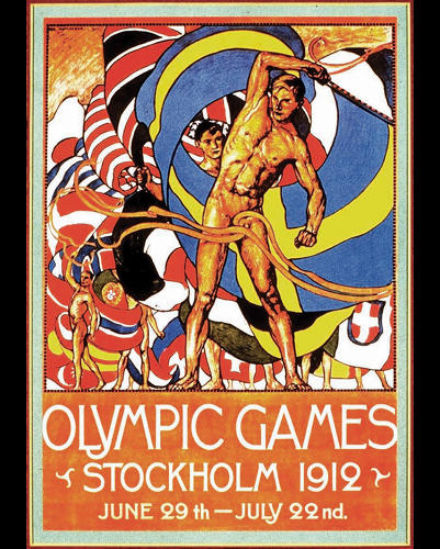 <p>1912 Summer Olympics – Games of the V Olympiad – Stockholm, Sweden</p>