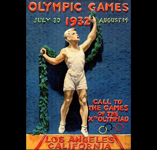<p>1932 Summer Olympics – Games of the X Olympiad – Los Angeles, United States</p>