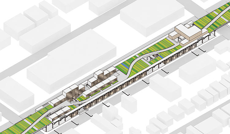 <p>It would help connect pedestrians and bikers to other nearby green space.</p>