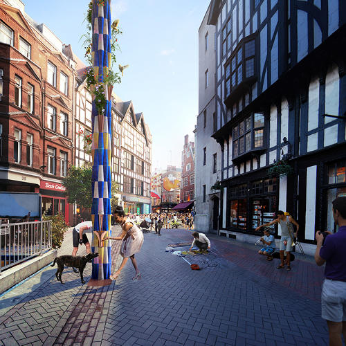 <p>A recent design challenge in London aimed at reversing that asked six architecture firms to design new fountains for neighborhoods.</p>