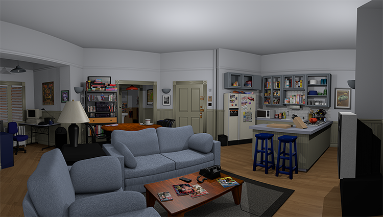 <p>Jerry's apartment on <em>Seinfeld</em> is as close to iconic as a boxy, moderately sized Upper West Side one-bedroom has ever been.</p>