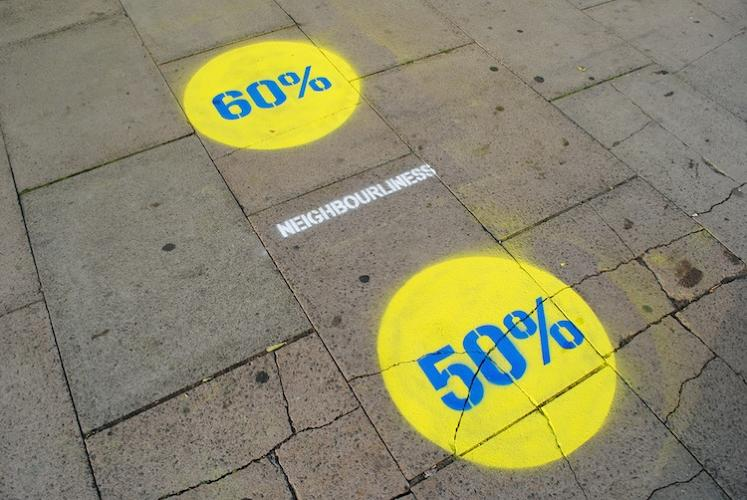 "<p>""By revealing the data on the pavement, we managed to make the visualization eye-catching: people would stop and try to figure out what was shown.&quot;</p>"